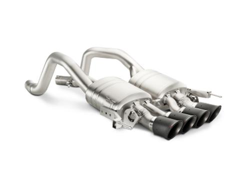 Akrapovic Akrapovic Slip-On Line Titanium w/ Carbon Tips 14-17 Chevrolet Corvette Z06 C7