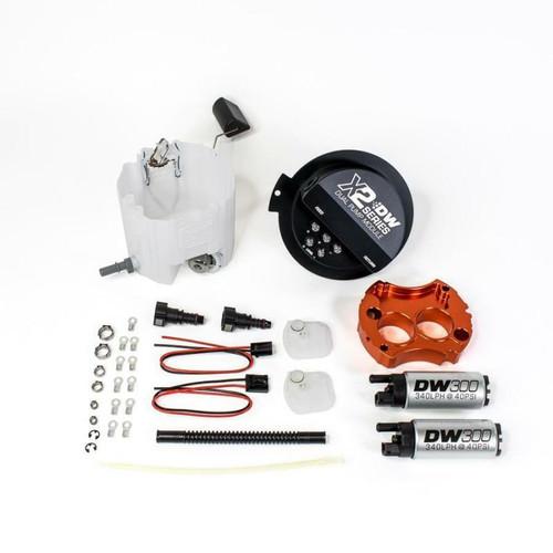 DeatschWerks DeatschWerks 10-15 Chevy Camaro LS 3.7 V6/ SS LS3 X2 Series Fuel Pump Module w 2 DW300s - 9-301-7002