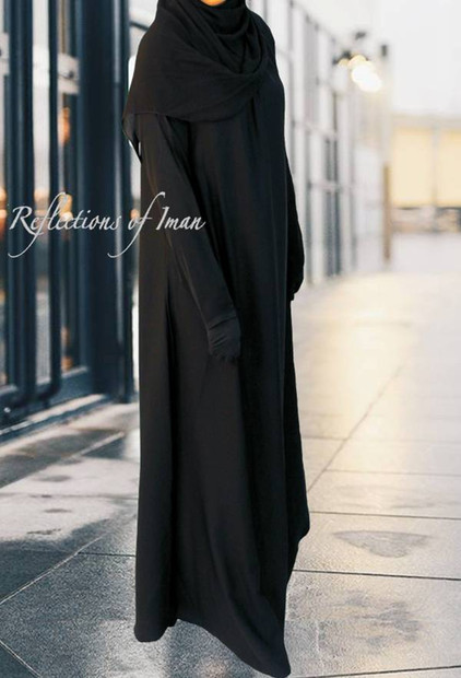 7b9e5f86702 Reflections of Iman Collection of Black Abayas
