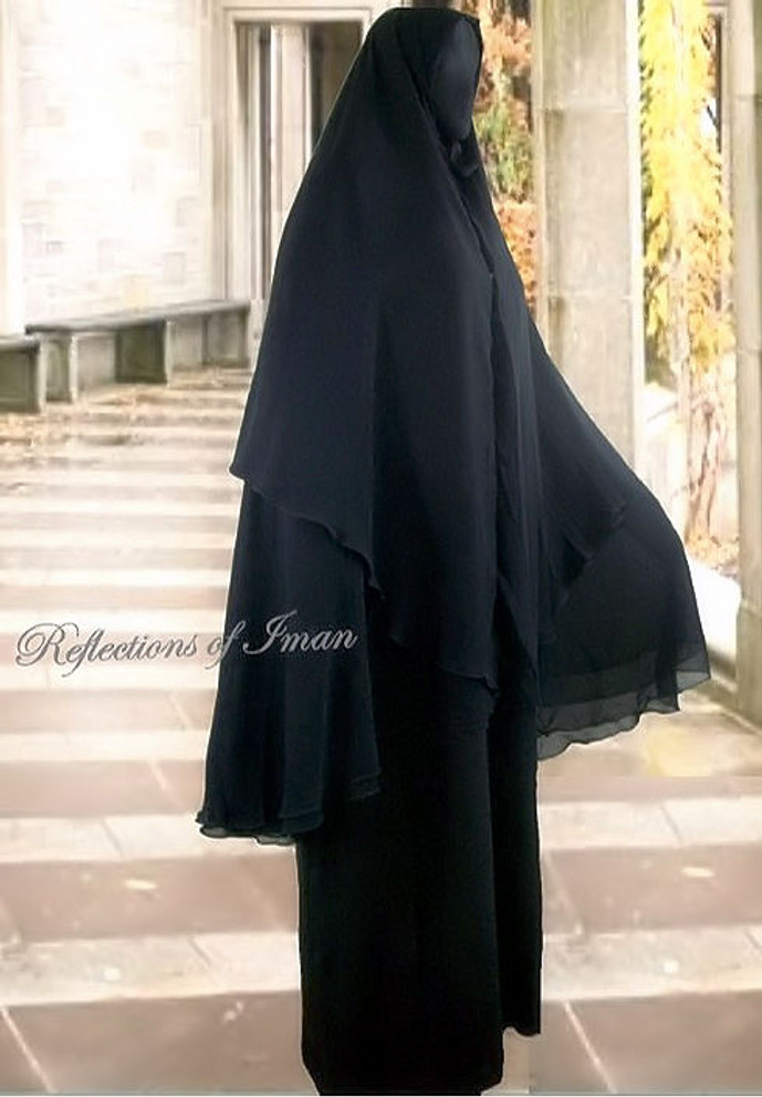 Yemeni Khimar - 4 layer