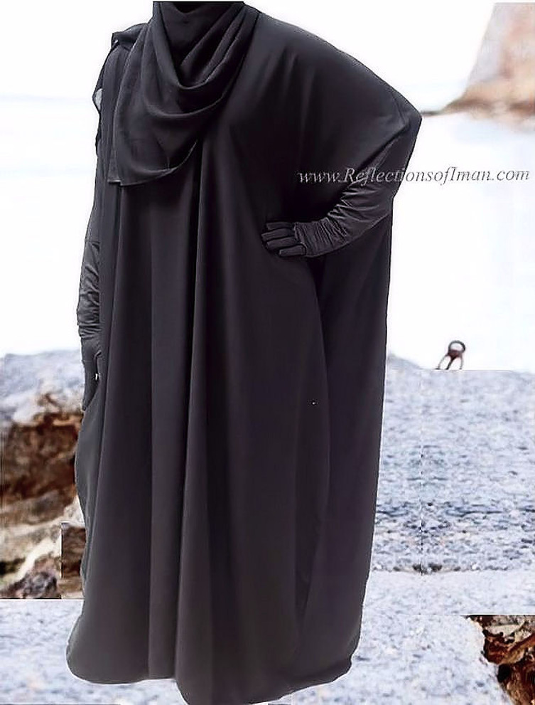 The Forever... Black Dubai Abaya
