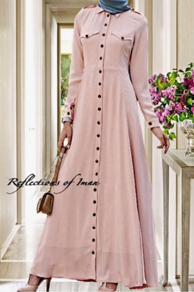 Amara Pink Maxi Dress ~ Reflections of Iman -1