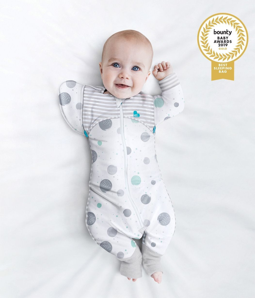 SWADDLE UP™ TRANSITION SUIT Lite 0.2 TOG White