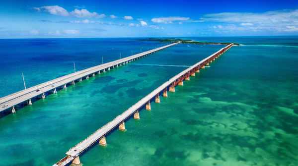 Famous 7 Mile Bridge