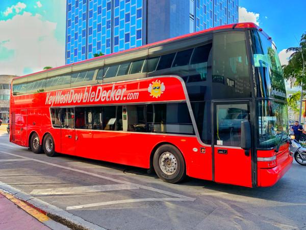 Key West Double Decker Bus