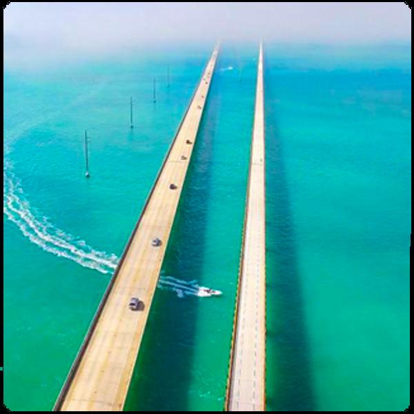 Miami to Key West 7 mile Bridge