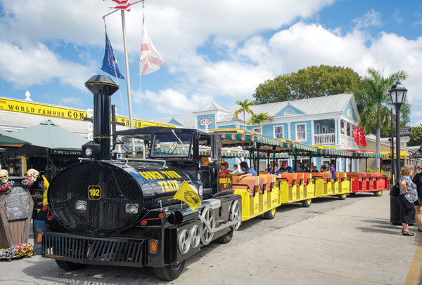 Conch Tour Train in Key West