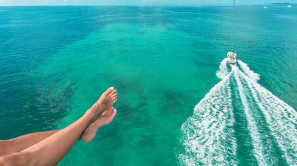 Parasailing in Key West