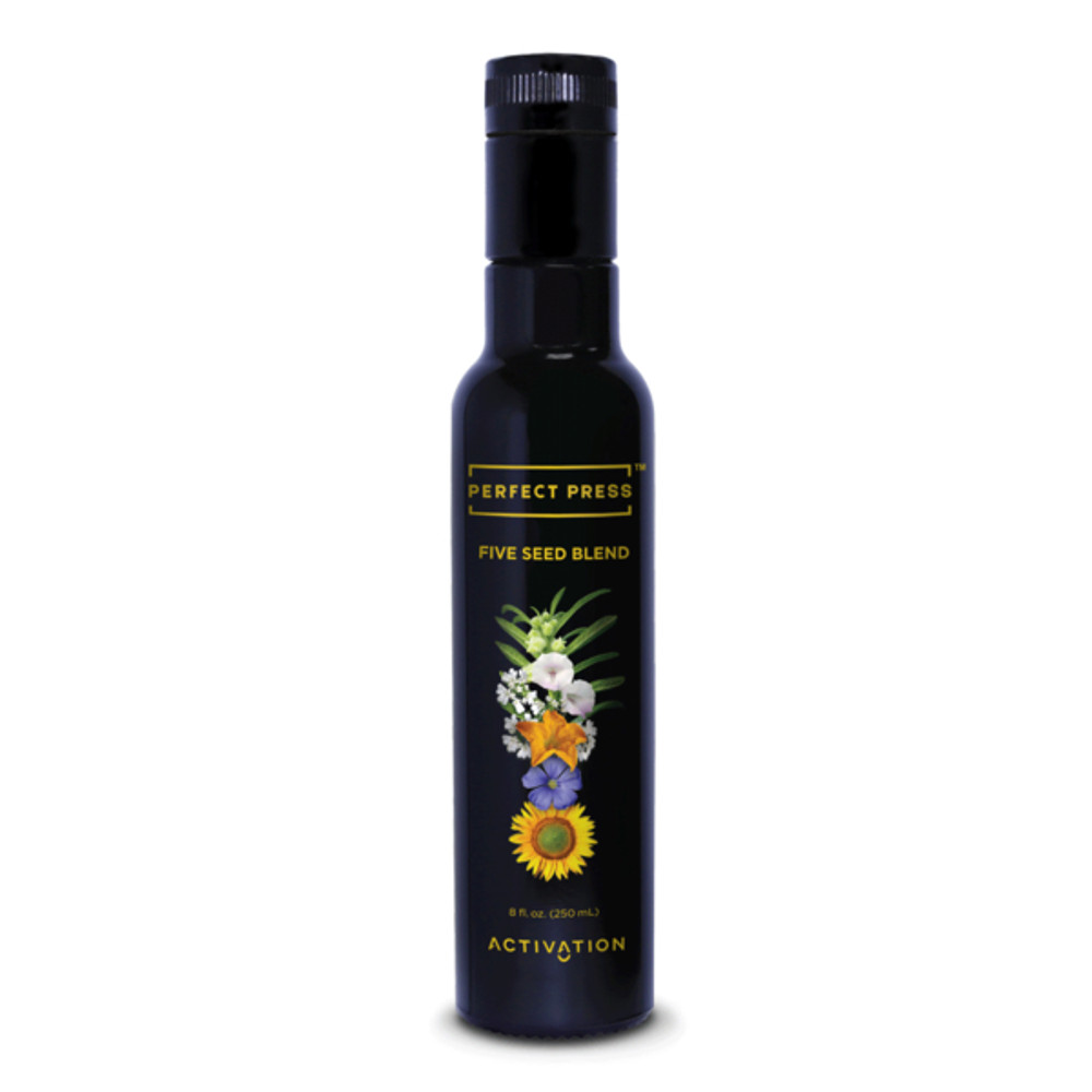 Five Seed Blend Oils by Activation (Perfect Press) 8oz FREE SHIPPING