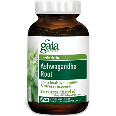 Ashwagandha LP Caps 60 by Gaia Herbs