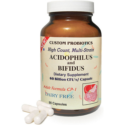 Custom probiotics CP-1 60 billion cfus