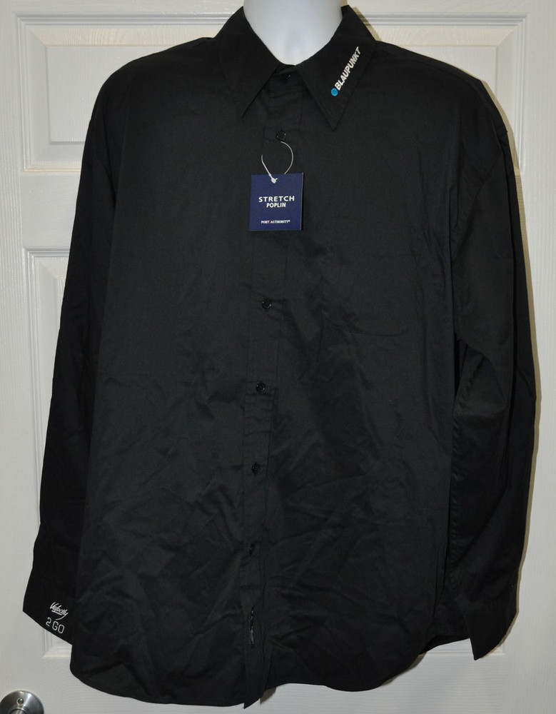 Blaupunkt Velocity Dress Shirt-Black