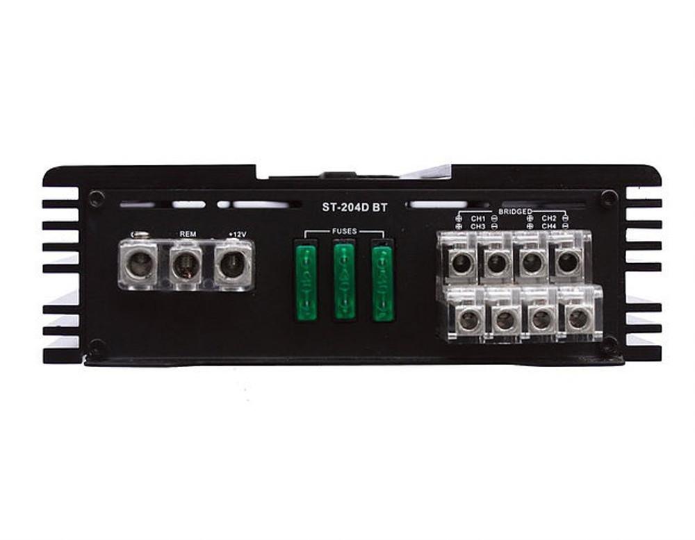 Zapco ST-204D BT 4 Ch. Class D Amplifier With Bluetooth