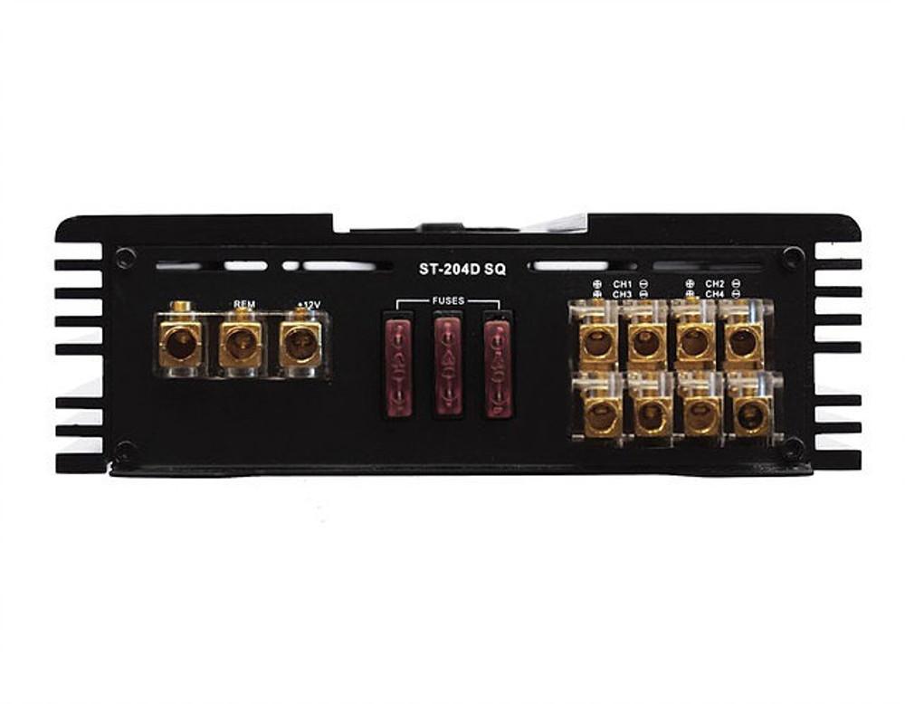 Zapco ST-204D SQ 4 Ch. Class D Amplifier