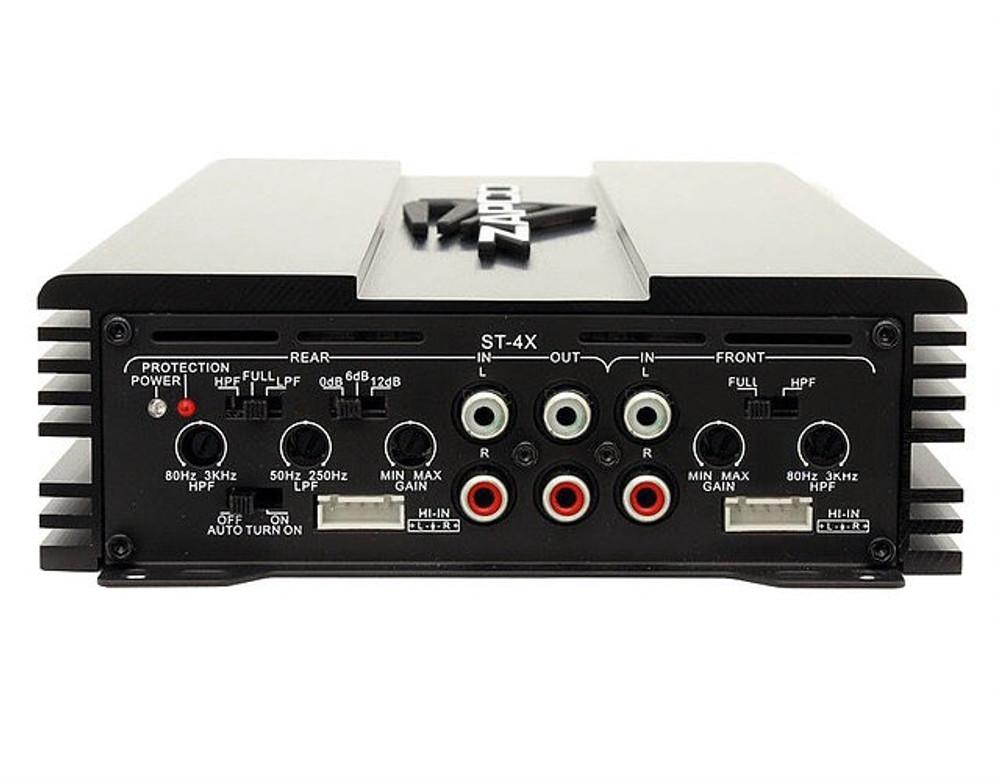 Zapco ST-4X II 4 Ch. Class A/B Amplifier