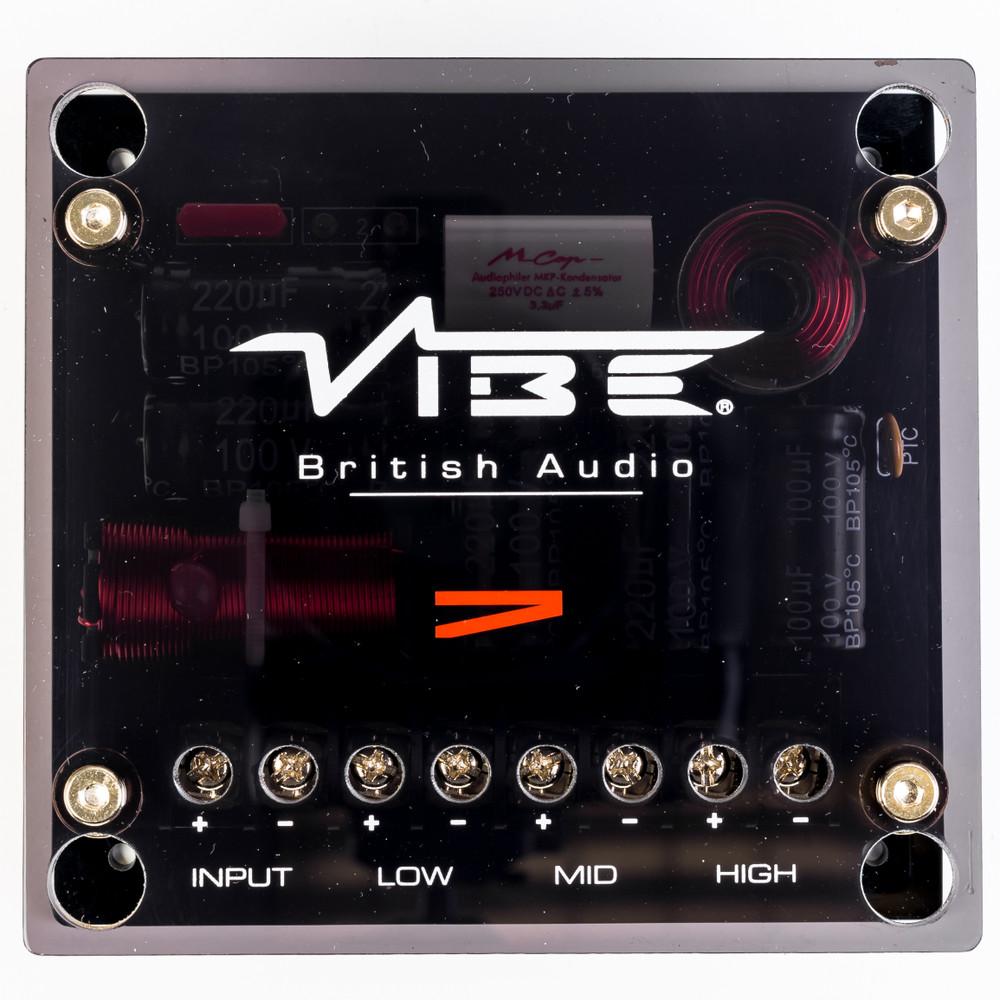 """Vibe CVEN 6.5"""" 3 Way Component Speaker System CVEN63C-V4"""