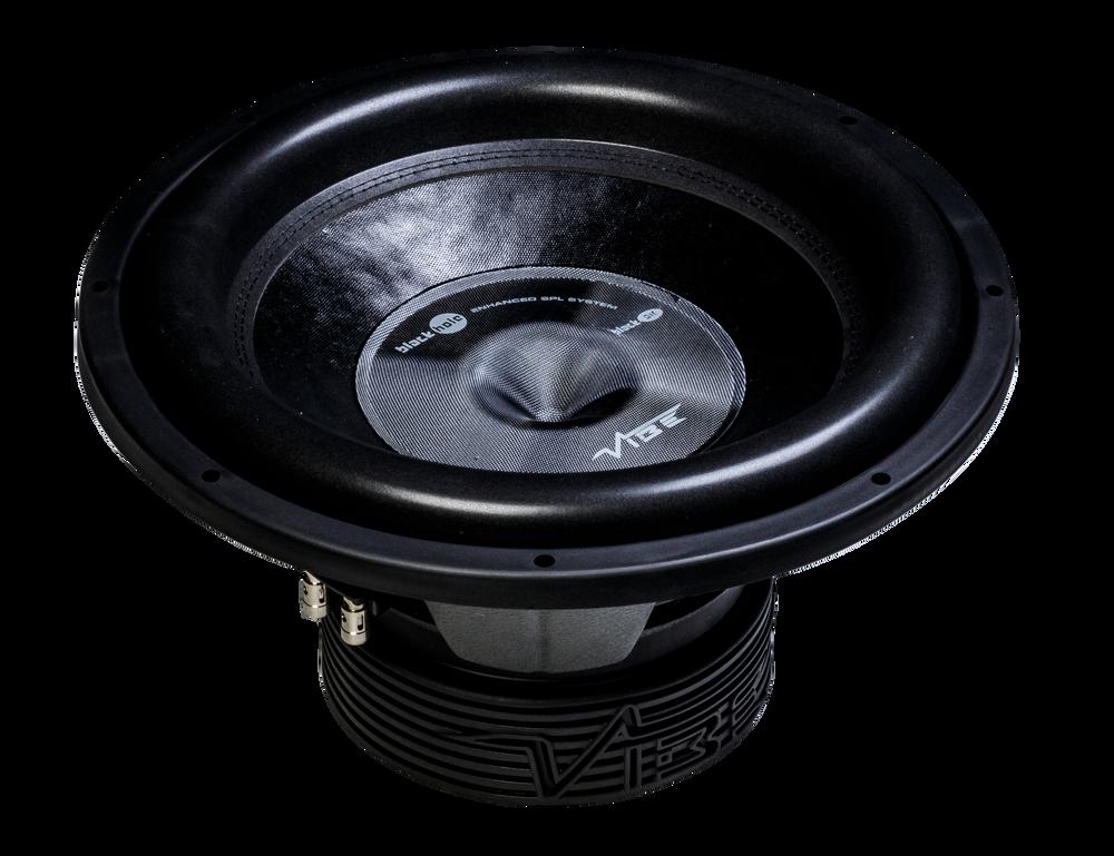 "Vibe Black Air 15"" Dual 2 Ohm Subwoofer BLACKAIR15D2-V7"