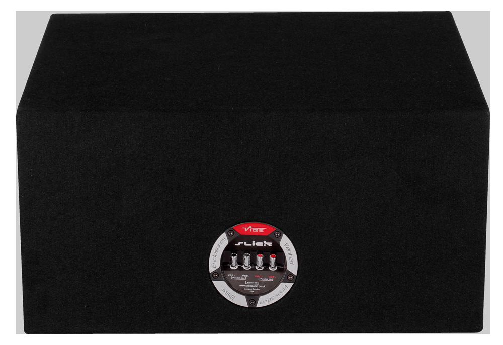 """Vibe Slick CBR 12"""" Ported Subwoofer Enclosure SLICKCBR12-V7"""