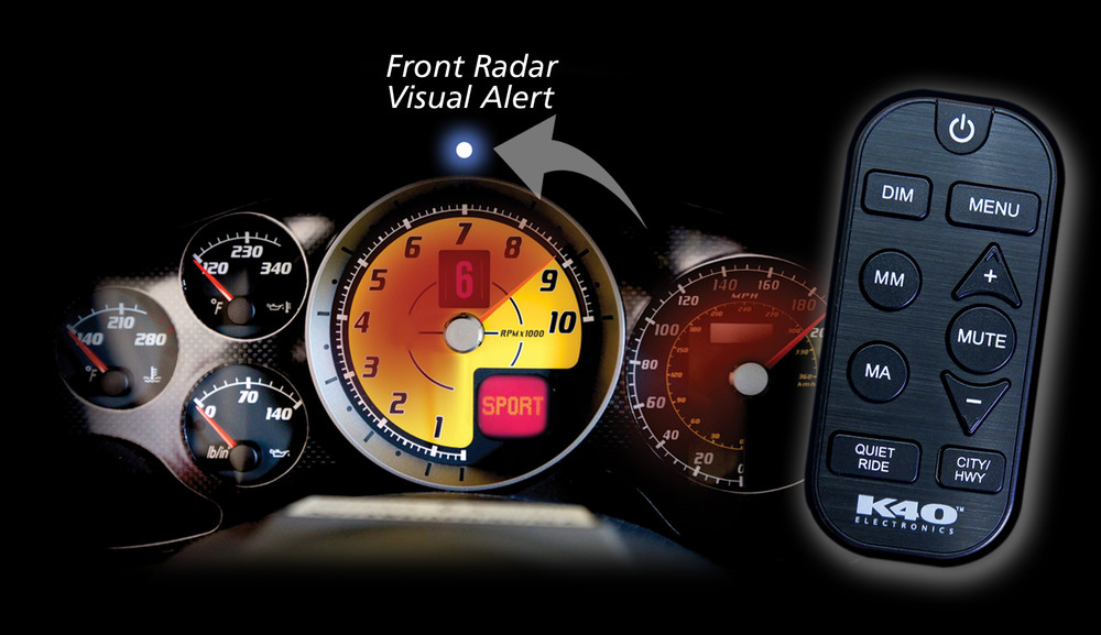 K40 Platinum200 Radar Detector System