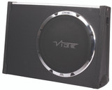 "Vibe Black Air 12"" Passive Radiator Slimline Subwoofer Enclosure BLACKAIRT12S-V6"
