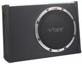 "Vibe Black Air 12"" Passive Radiator Slimline Subwoofer Enclosure BLACKAIRT12S-V6"