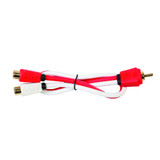 Critical Link 2 Female to 1 Male RCA Y Splitter Cable CLRCA2F1MA-V7