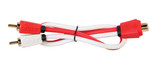 Critical Link 2 Male to 1 Female RCA Y Splitter Cable CLRCA2M1FA-V7