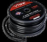 1/O AWG OFC True Gauge Power Wire Black 49.5' Roll