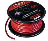 4 AWG OFC True Gauge Power Wire Red 99' Roll