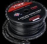8 AWG OFC True Gauge Power Wire Black 250' Roll