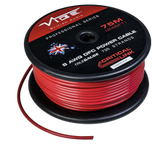 8 AWG OFC True Gauge Power Wire Red 250' Roll
