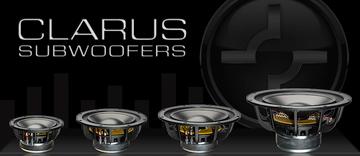 """Clarus C12SW 12"""" Dual Voice Coil Subwoofer"""