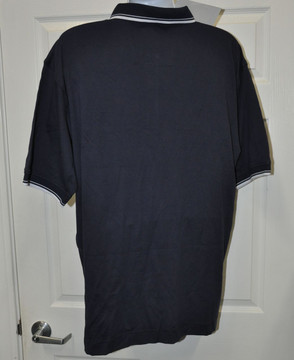 Blaupunkt Polo Shirt-Dark Blue stripe