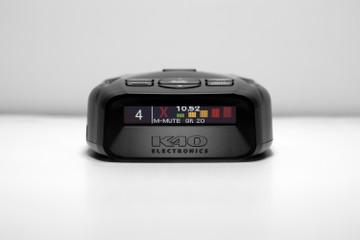 K40 Platinum100 Portable Radar Detector