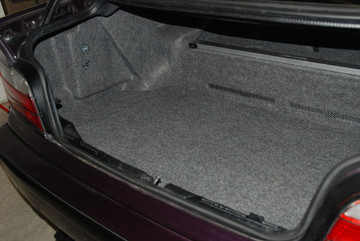 BMW Trunk Carpet