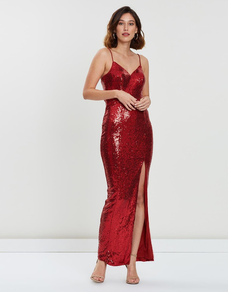 Hailee Sequin Gown