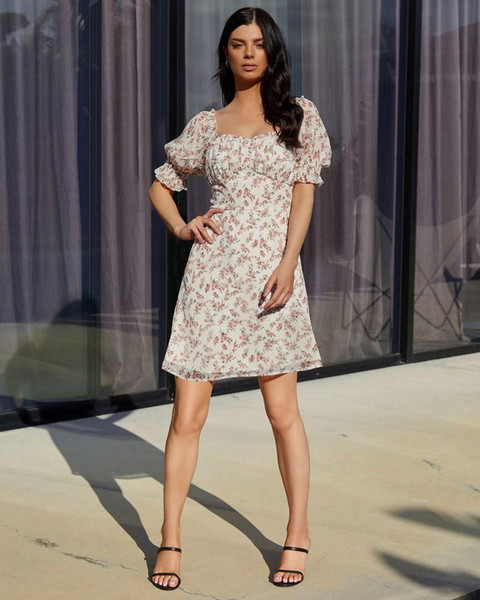 Kris Dress - White