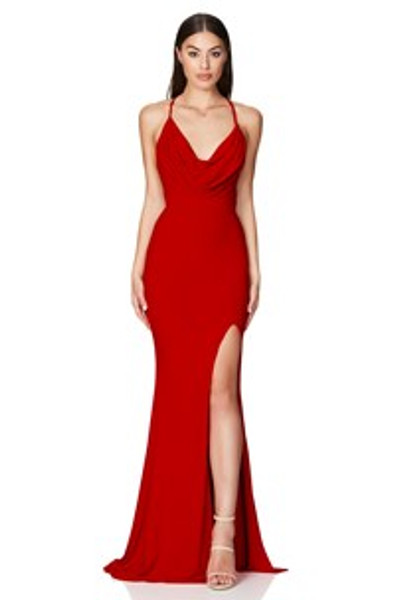 Harley Gown - Cherry