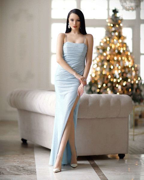 Candice Gown - Baby Blue