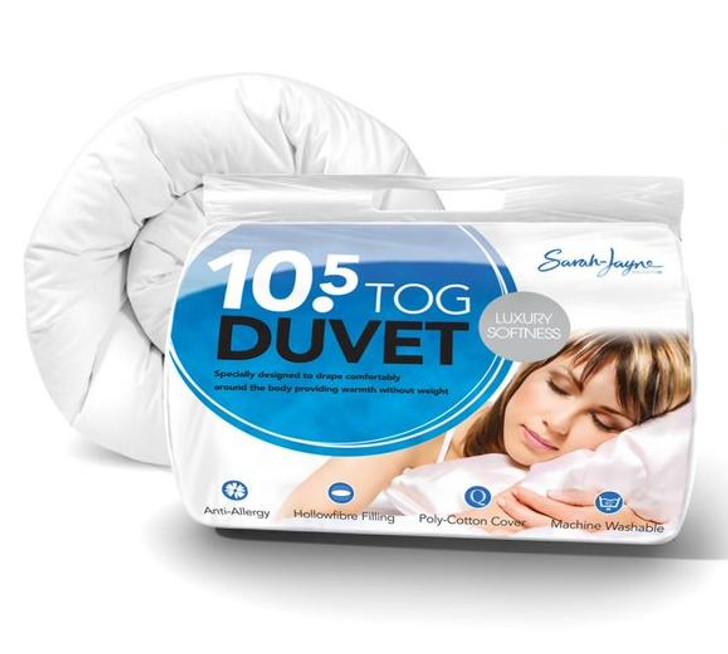 Luxury Hollowfibre Anti Allergy Duvet Warm 10.5 Tog - King