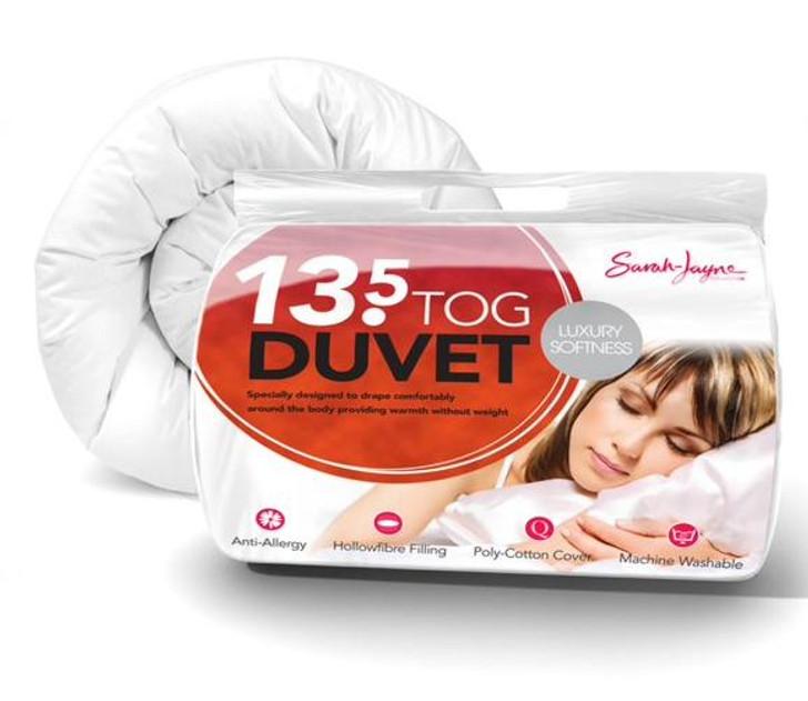 Luxury Hollowfibre Anti Allergy Duvet Warm 13.5 Tog - Single