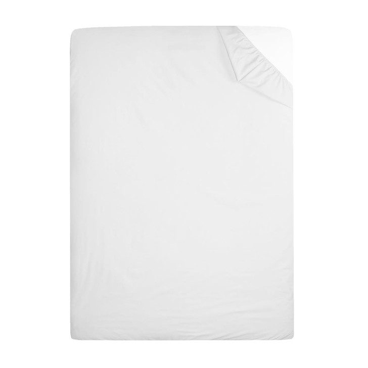 180TC Deep Percale Fitted Sheets 12 Deep Easy Iron