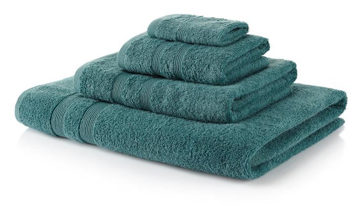 6 Piece Kingfisher Towel Bale 500 GSM - 2 Face Cloths, 2 Hand Towels, 2 Bath Towels