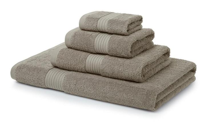 9 Piece Latte Towel Bale 700GSM - 4 Face Cloths, 2 Hand Towels, 2 Bath Towels, 1 Bath Sheet
