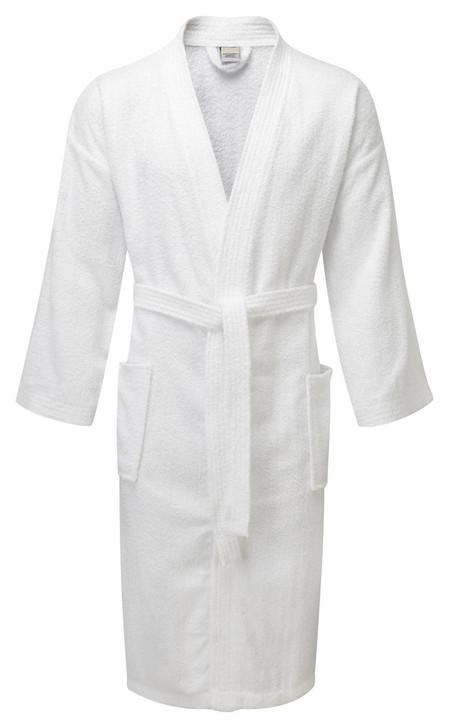 Value Range Kimono Bathrobes - 100percent Cotton Terry Towelling