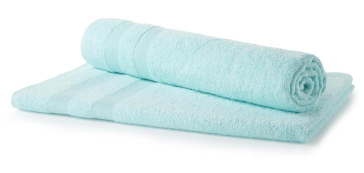 Duck Egg Blue 500 GSM Beach Towel