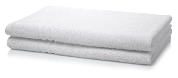 500 GSM White Bath Sheet - 1 Piece