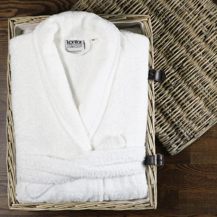 High Quality Turkish Cotton Terry Towelling Bath Robes