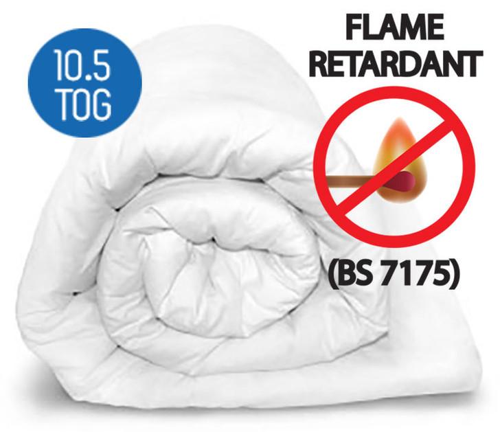 10.5 Tog Flame Retardant Duvet BS 7175