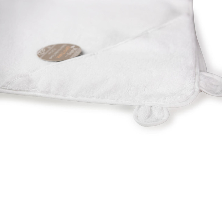 Zero Twist Cotton Soft Baby Hooded Towel with Ears